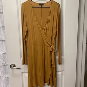 Express Mustard Dress